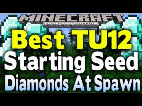 Minecraft Xbox 360 - BEST SURVIVAL SEED   EASY DIAMONDS & HUGE JUNGLE (Seed Spotlight) [TU12]