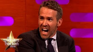 Ryan Reynolds Got High-Fived At The Worst Possible Time!   The Graham Norton Show