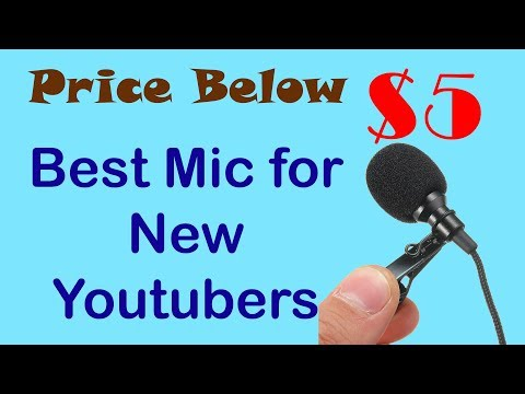 Best Mic for New Youtubers- Price Below $5 | Som Tips
