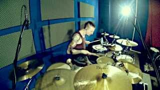 Nneka - Heartbeat (Chase & Status dubstep remix) drum cover by Pavel Lokhnin