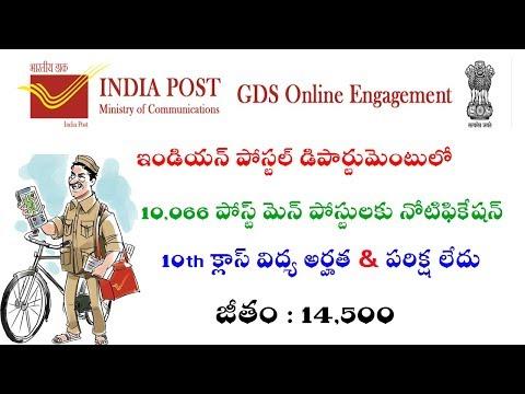 Xxx Mp4 Indian Postal Department 10066 Postmen Posts Notification 2019 Details Postal Jobs 2019 3gp Sex