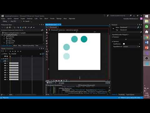 WPF and Blend - Loading animation (C#)
