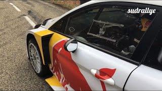 Test Rallye Monte Carlo 2018 - Sebastien Ogier (Fiesta WRC) (HD)
