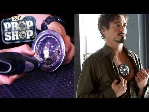 Make An Iron Man Arc Reactor - DIY Prop Shop