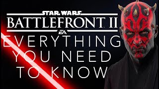 Star Wars Battlefront 2: Everything You NEED To Know