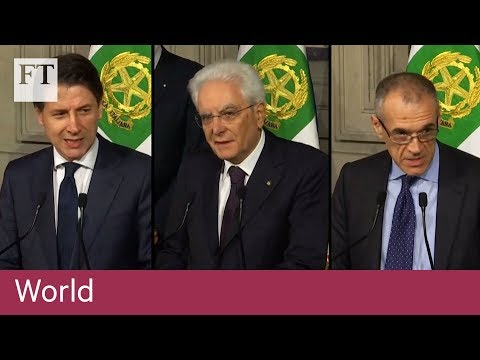 Italy: a timeline of turmoil