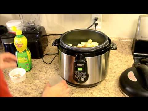 Apple Sauce in the pressure cooker