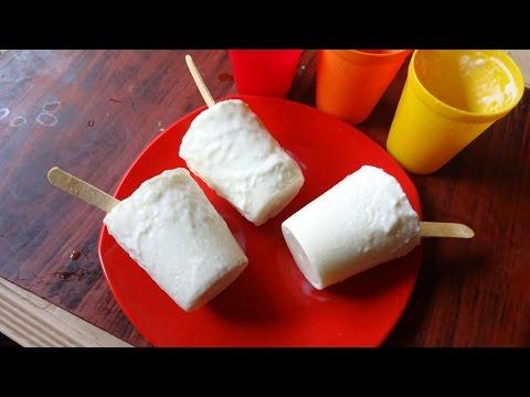 Summer Special Milk Ice | Homemade Kulfi Recipe in Telugu by Maa Vantagadi (పాల ఐస్)