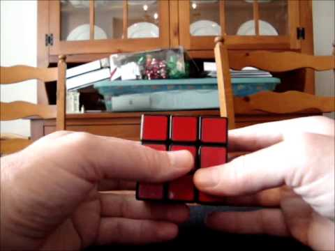 Solve Rubik's Cube without memorization - Part 12 - 5 corner situations