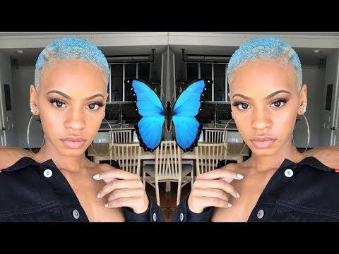 I DYED MY HAIR BLUE!!! | Talk Through Tutorial