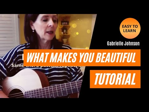 What Makes You Beautiful (Easy) Guitar Tutorial