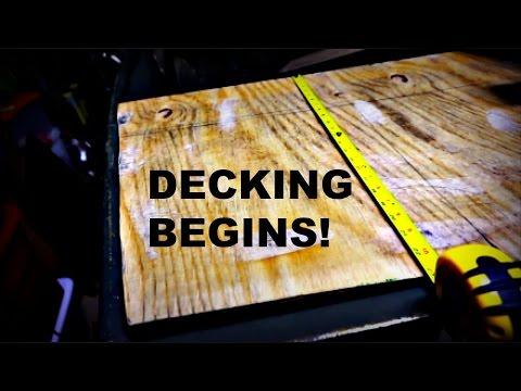 Jon Boat Project Decking Begins IRON MAN STYLE