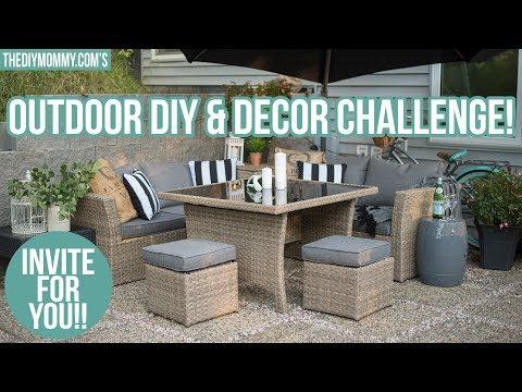 Invitation for YOU! 2018 Outdoor DIY & Decor Challenge Invite