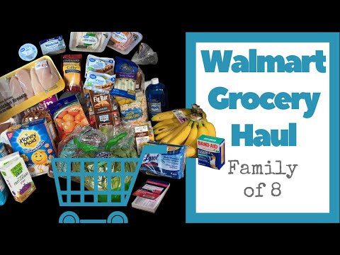 Walmart Grocery Haul - NO ARTIFICIAL INGREDIENTS - Chicken Breast, Dye Free Snacks, Daycare Expenses