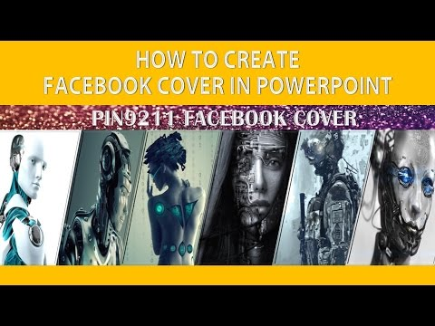 HOW TO CREATE FACEBOOK COVER IN POWERPOINT 2016