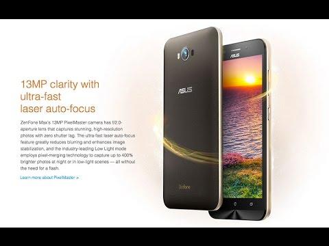 Asus Zenfone Max Unboxing ZC550KL White Gold Dual SIM 5000mAh Battery