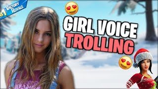 GIRL VOICE TROLLING A THIRSTY 17 YEAR OLD 🤤