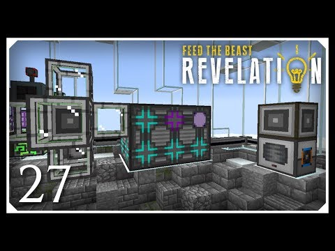 How To Play FTB Revelation | AE2 Autocrafting Basics! | E27 Modded Minecraft For Beginners