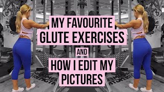 Full Glute Workout | How I Edit My Pictures | So Fit Plan Details | Vlog