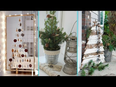 ❤DIY chic style Small space Christmas Tree decor Ideas❤ | Christmas Home decor | Flamingo Mango|