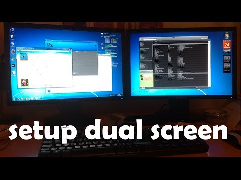 {HINDI} how to setup dual monitors on your desktop or laptop || setup dual screen | add extra screen