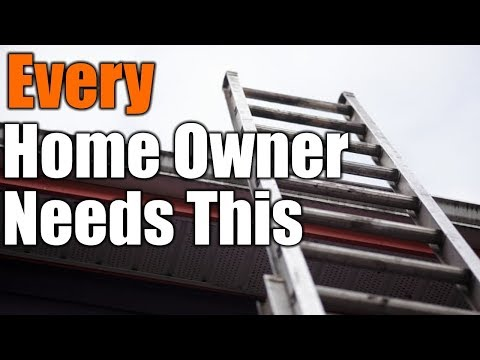 Every Home Owner Needs This Ladder | THE HANDYMAN |