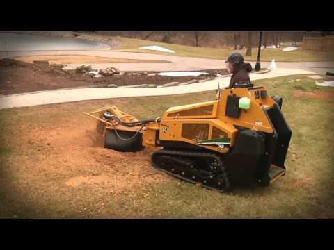 Vermeer SC40TX ride-on tracked stump grinder