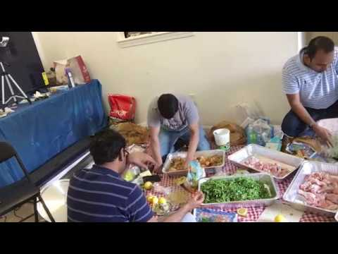 Chicken Biryani Prepared by IT Group of RI Part 3 for 25th Iftar at Masjid Al Islam  | Ramadan