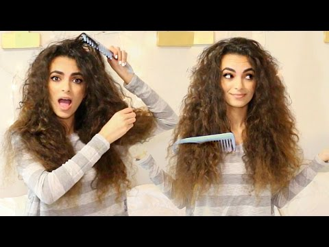 HOW TO: Detangle Long Curly Hair