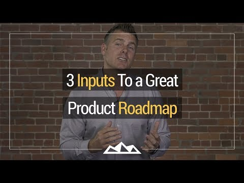 3 Inputs To a Great Product Roadmap | Dan Martell