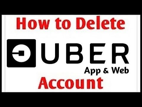How To Delete Uber Account   2018