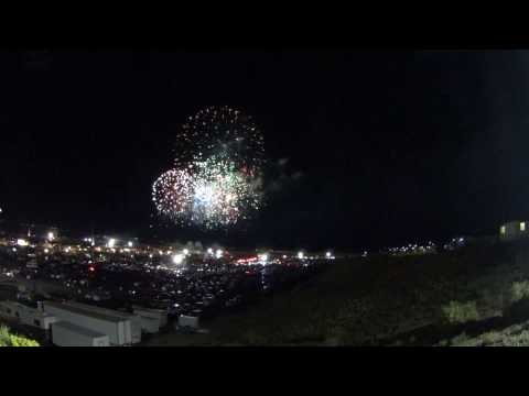 Albuquerque International Balloon Fiesta Fireworks Show 2016
