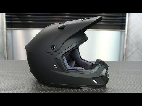 HJC CS MX 2 Matte Black Helmet | Motorcycle Superstore