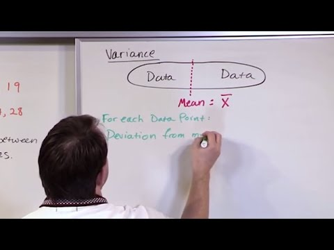 Lesson 14 - Population and Sample Variance in Statistics