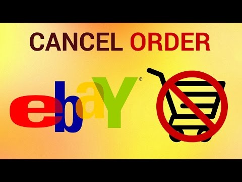 How to Cancel eBay Order