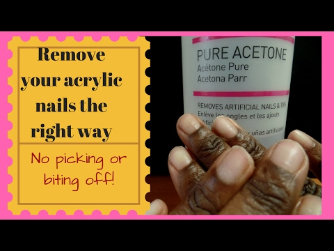 How to Remove Acrylic Nails Fast Using Water