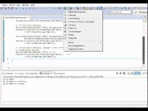 Java Easy   Java Calendar 2