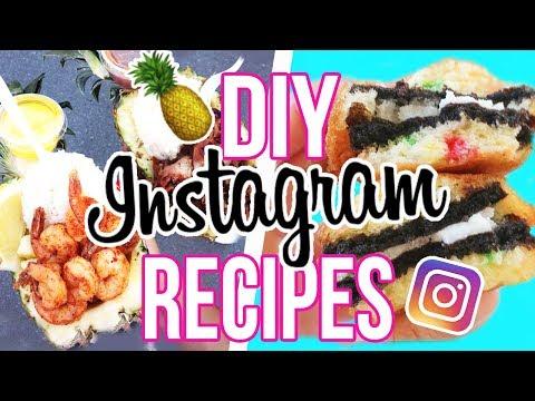 DIY INSTAGRAM RECIPES!! FAIR FOOD! Deep Fried Oreos, Hot Cheeto Elote + More!