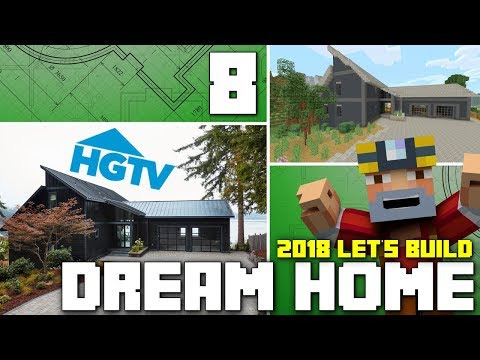 Minecraft Xbox One: Let's Build The HGTV Dream Home 2018! (Part 8)