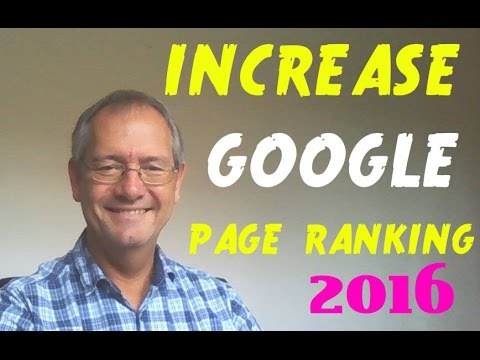 PAGE RANK increase in GOOGLE.How to increase your PAGE RANK in google
