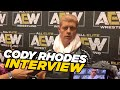 Cody Talks Signing Jon Moxley To AEW After Double Or Nothing