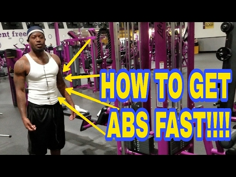 HOW TO GET ABS FAST UPPER LOWER AB WORKOUT