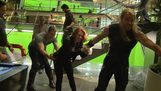 Marvel's Avengers Age of Ultron: Fun Behind the Scenes Look at the Actors