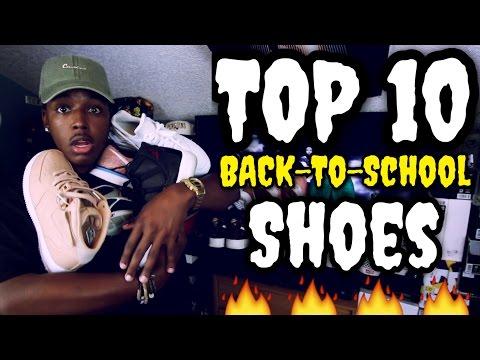 TOP TEN BACK TO SCHOOL SNEAKERS