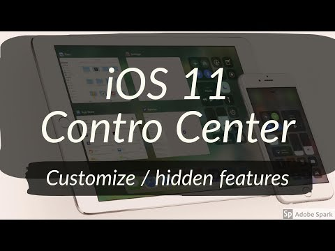 How to Customize the iOS 11 Control Center | Hidden Features