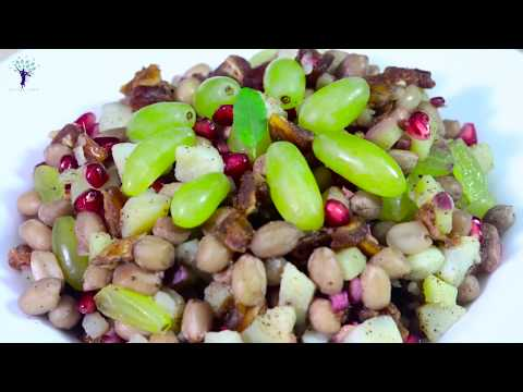 Peanut Salad Recipe ¦ पीनट सलाद ¦ मूंगफली सलाद रेसिपी ¦ How to make Fasting  Peanut Salad at home