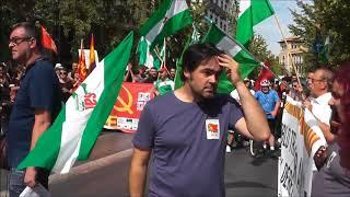 """Manifestación """"Por el derecho a decidir"""" Granada"""