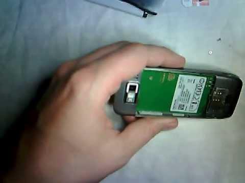 Nokia E52 disassembly