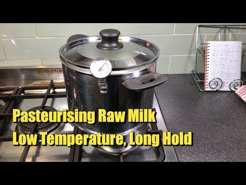 How to Pasteurise Raw Milk at Home for Cheese Making