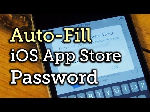 Auto-Fill Your Apple Password for the iOS App Store on Your Jailbroken iPad or iPhone [How-To]